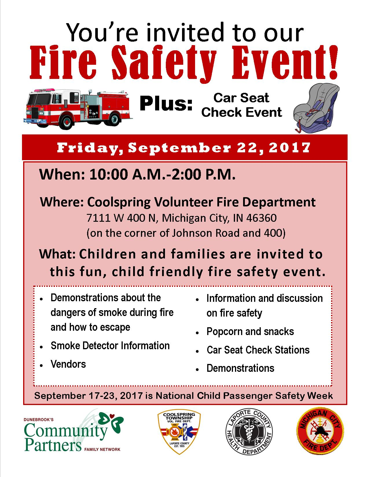 Fire Safety Event – Dunebrook